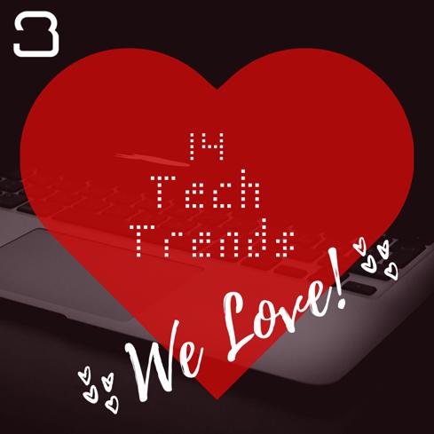 14 Tech Trends We LOVE